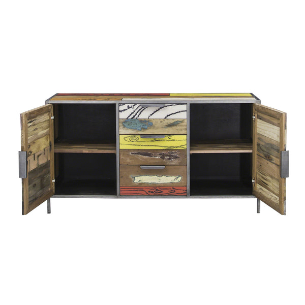 eclectic industrial sideboard shropshire design. Black Bedroom Furniture Sets. Home Design Ideas