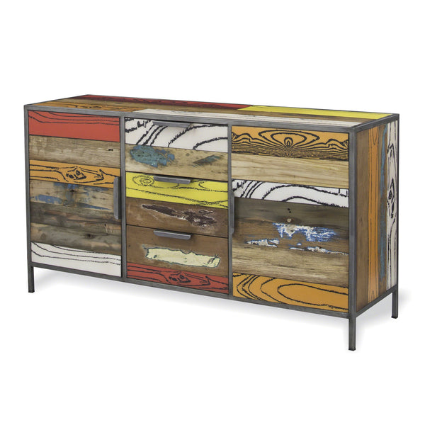 Cargo Brand Furniture: Eclectic Industrial Sideboard