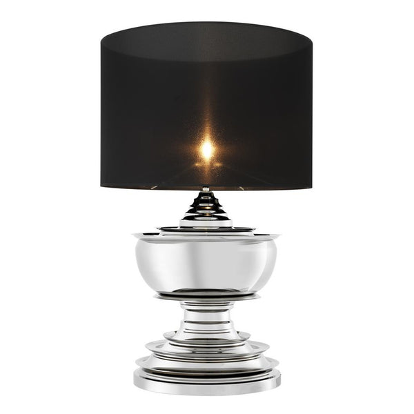 Eichholtz Silver Pagoda Table Lamp