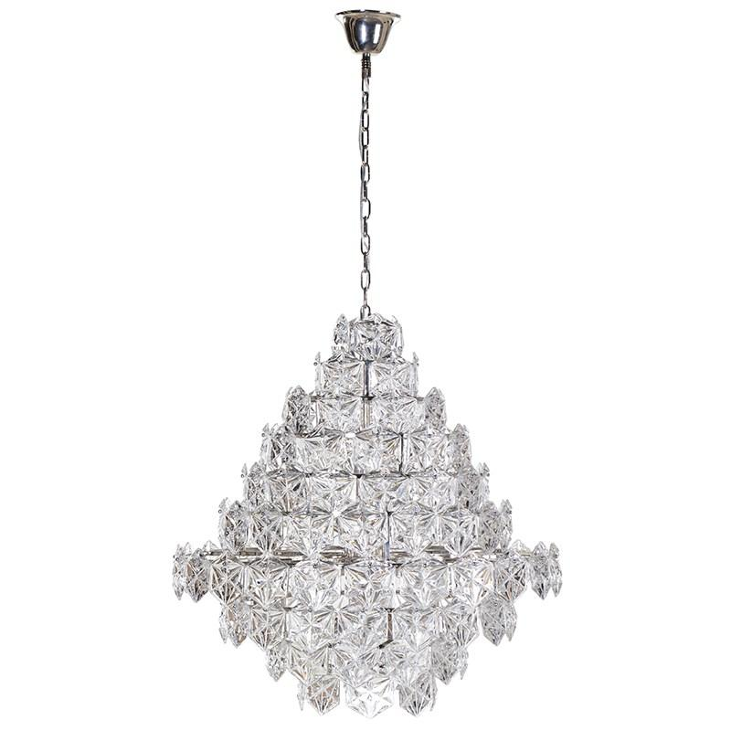 Elancie Glass Chandelier