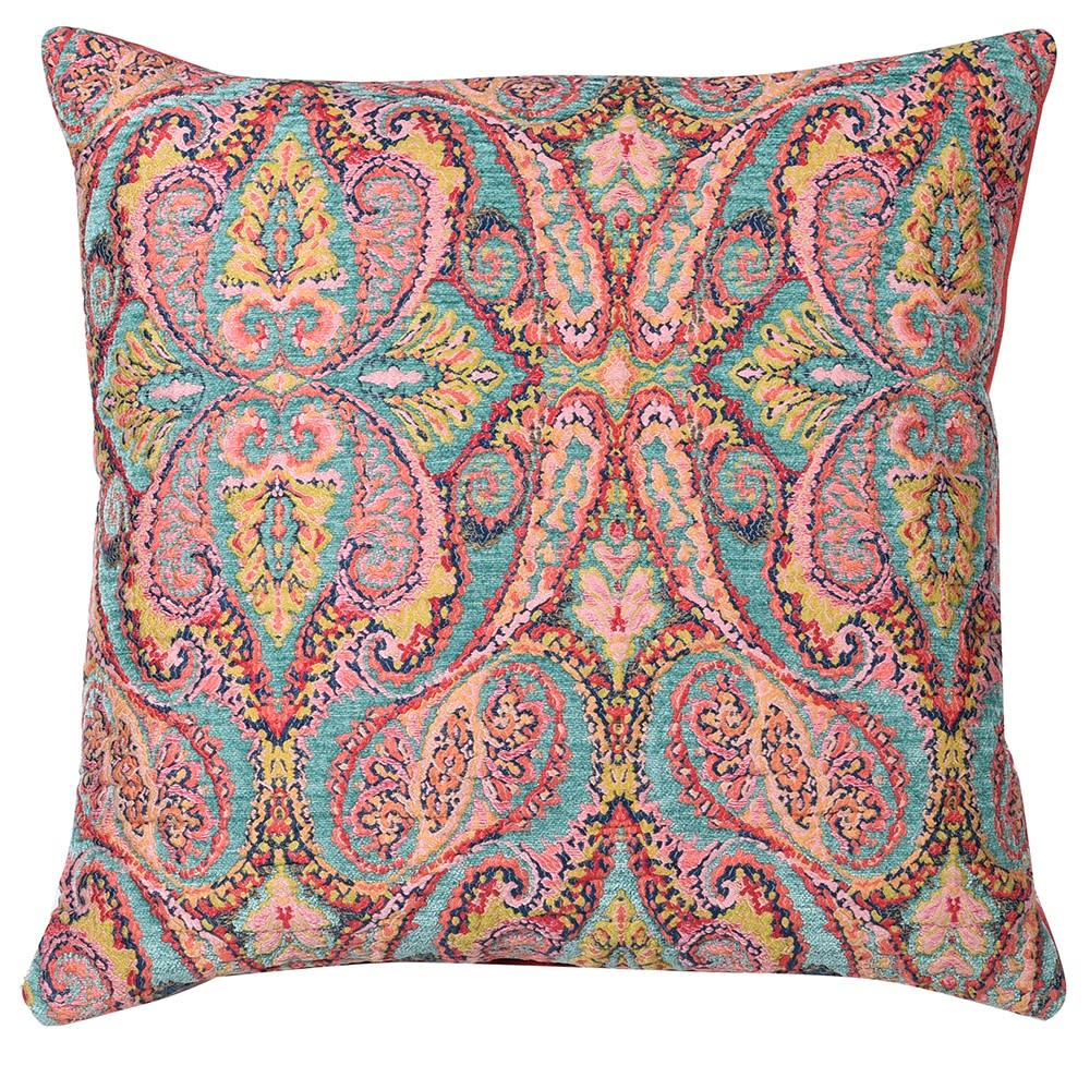 Ellis Cushion Cover with Paisley Print