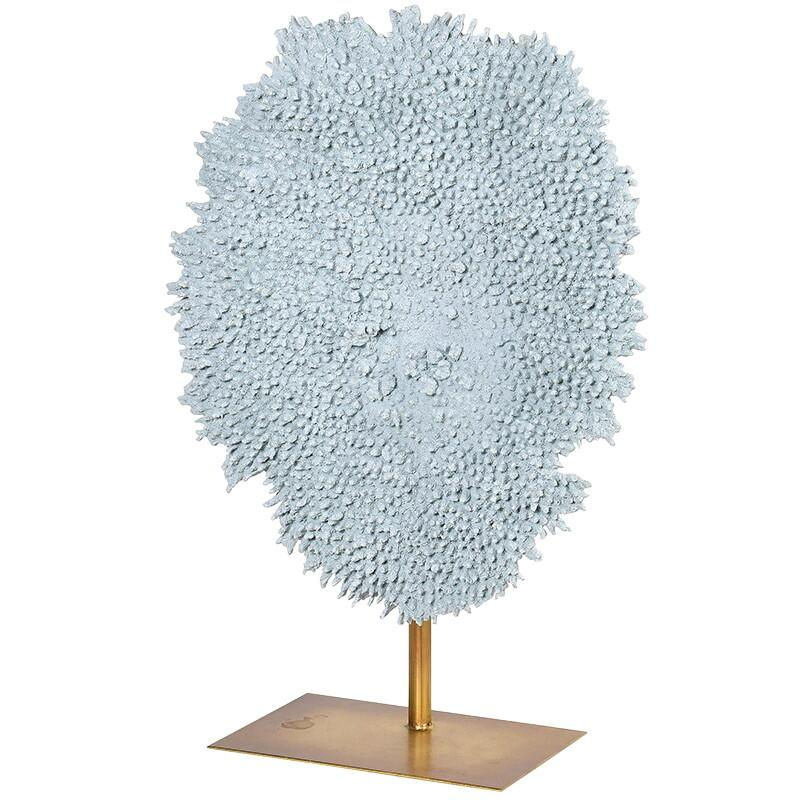 Feulline Large Blue Coral Decoration