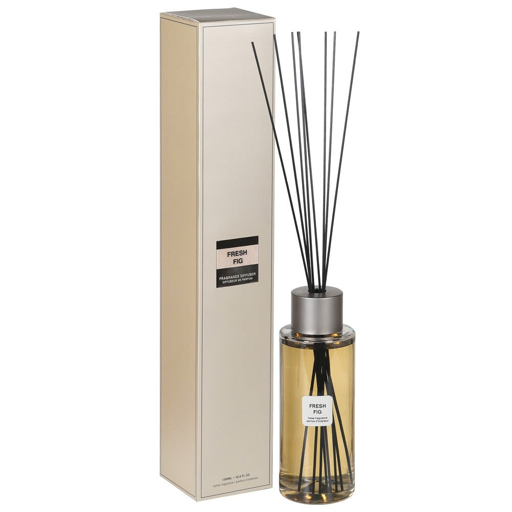 Figuera Pensali Home Reed Diffuser with Fresh Fig Fragrance