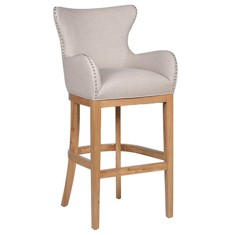 Fitton Ivory Barstool