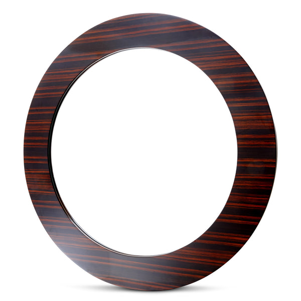 RV Astley Perran Ebony Side Circular Mirror