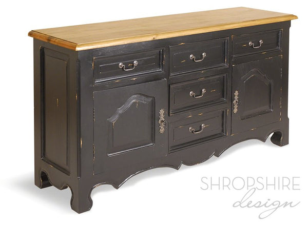 French Country Painted Sideboard