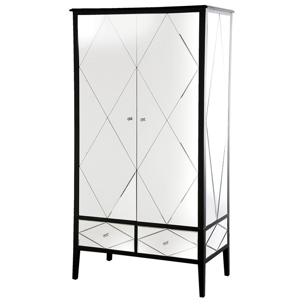 Gatsby Etched Mirrored Wardrobe