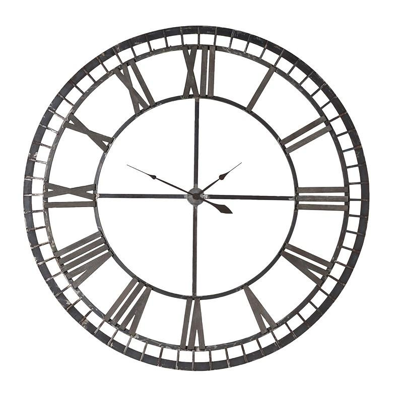 Giant Roman Numerals Wall Clock