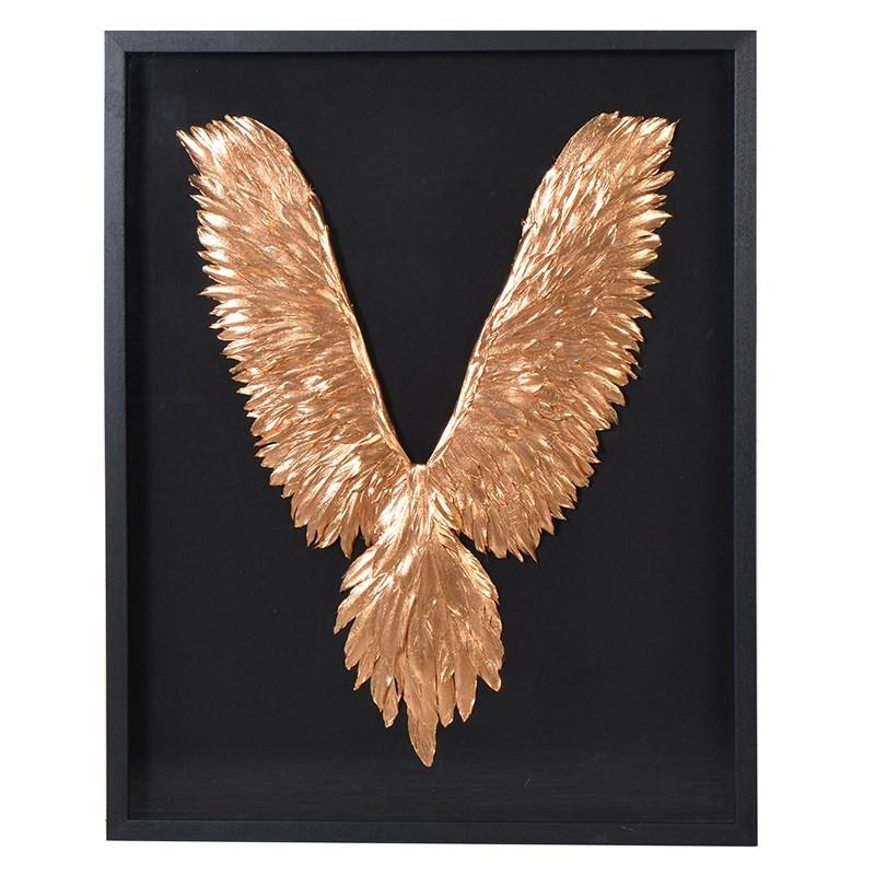 Goddess Framed Feathered Wings