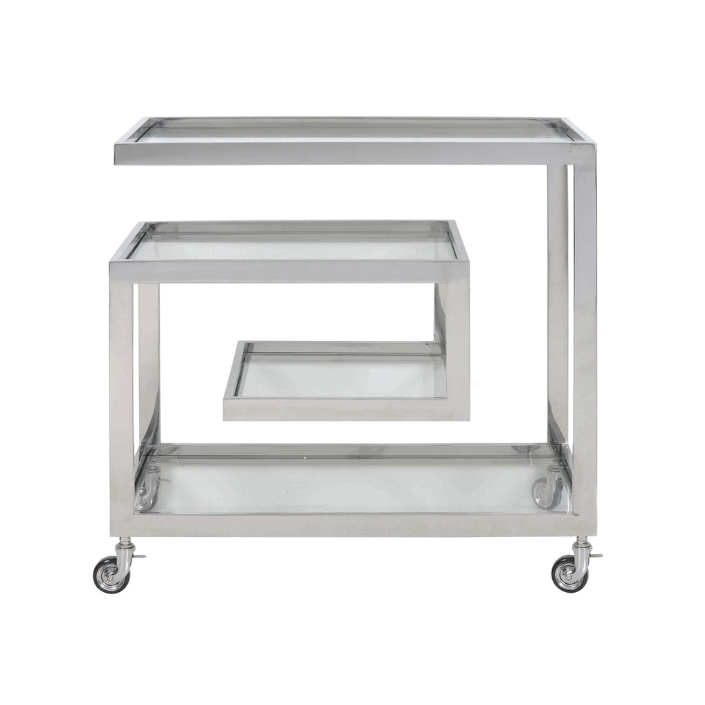 Horan Bar Trolley in Nickel