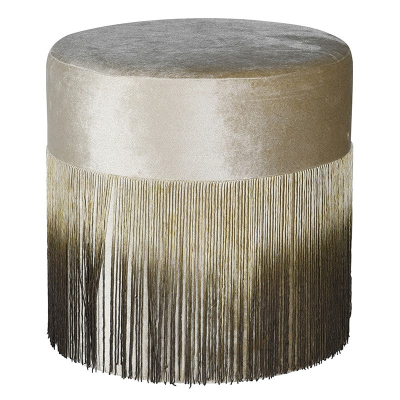 Ilkoni Stool with Fringe