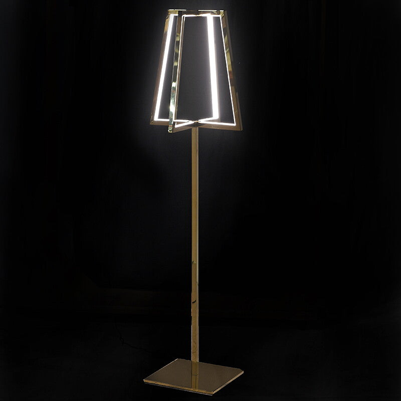 Illuminaire Gold LED Floor Lamp
