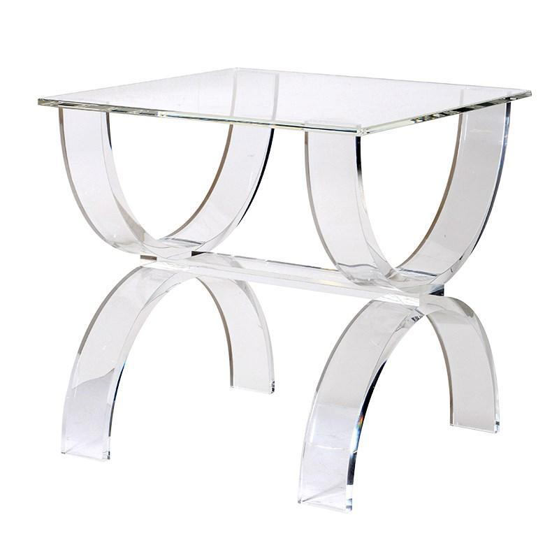 Illyria Acrylic Side Table