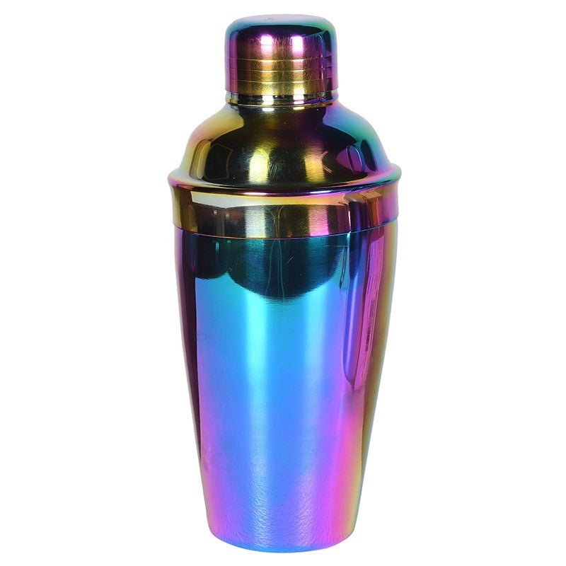 Inibel Cocktail Shaker in Iridescent Metal