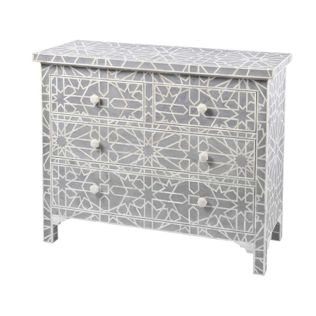 Irenie Inlaid Chest of Drawers