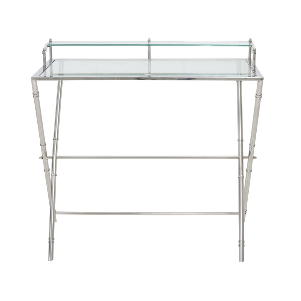 Irinea Console Table in Glass