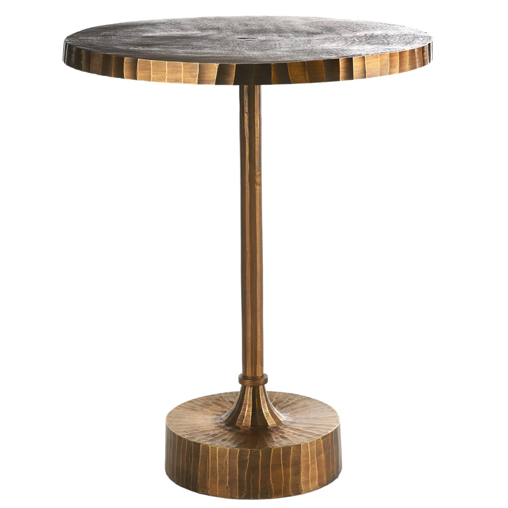 Kerria Table with Gold Plated Aluminium