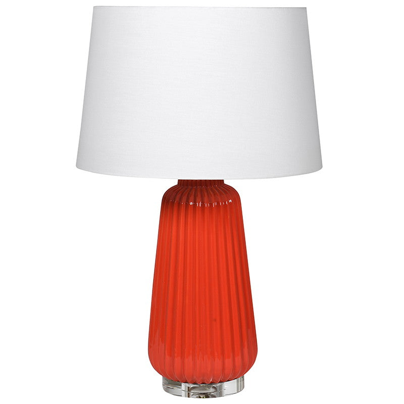 Laranga Ceramic Lamp with Shade