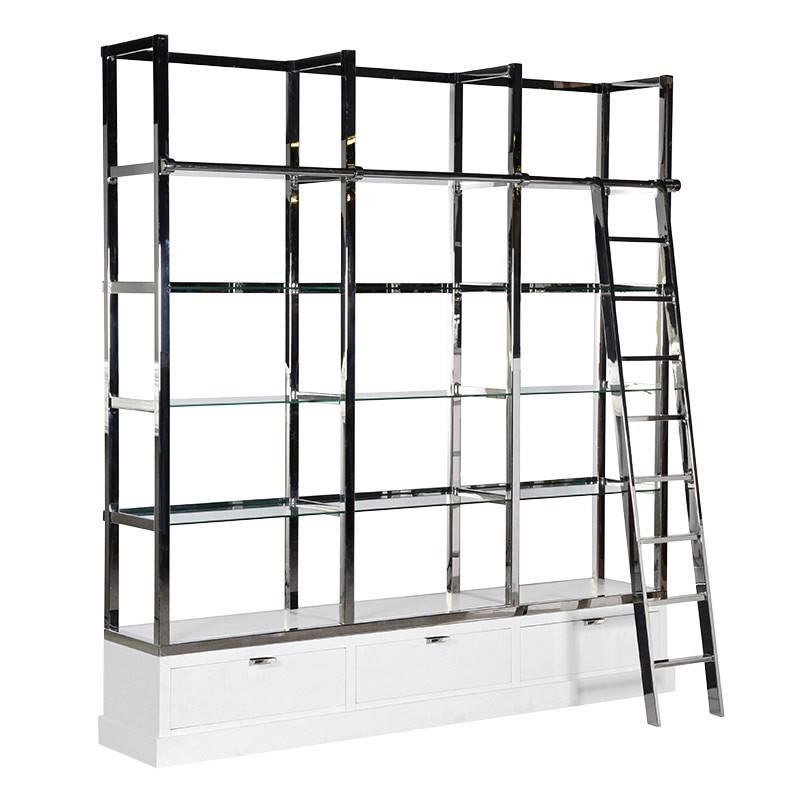 Lex Library Shelves Unit with Ladder