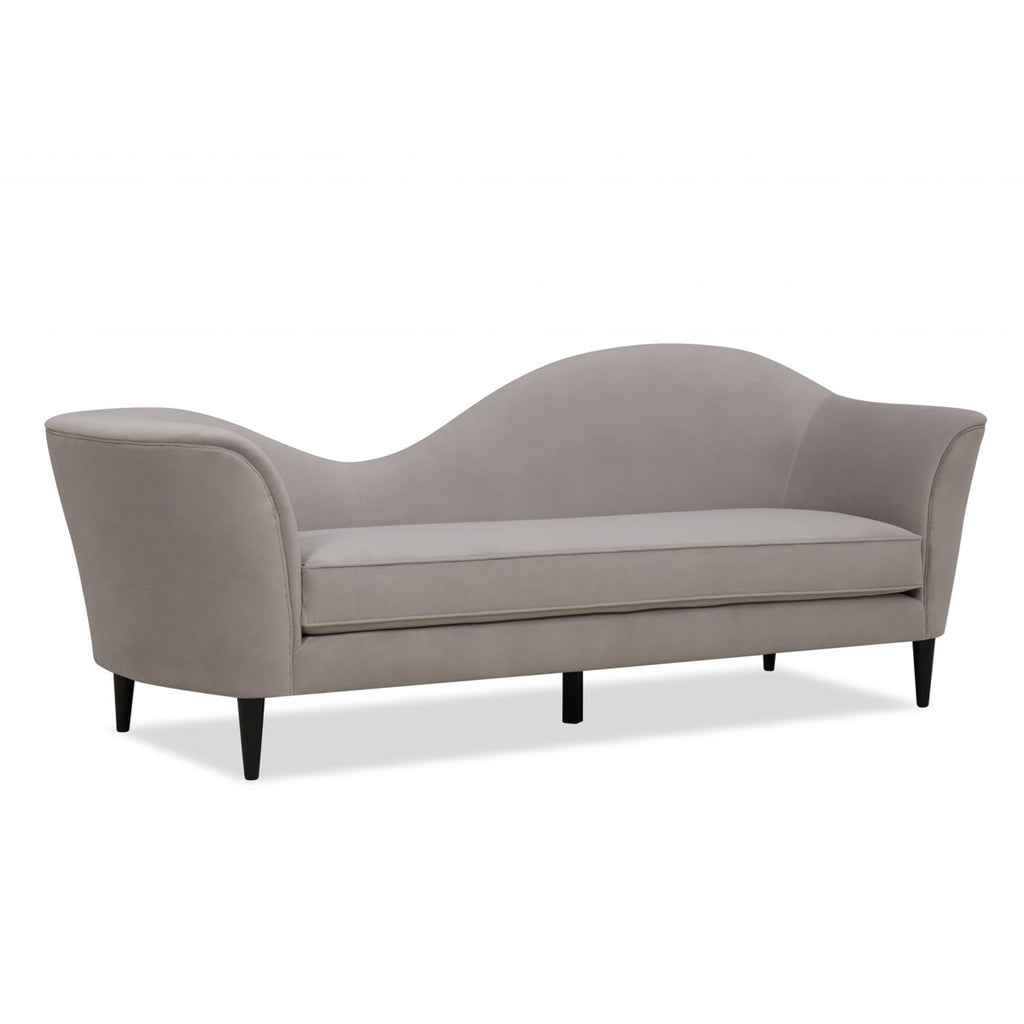 Liang & Eimil Allegro Light Grey Velvet Sofa