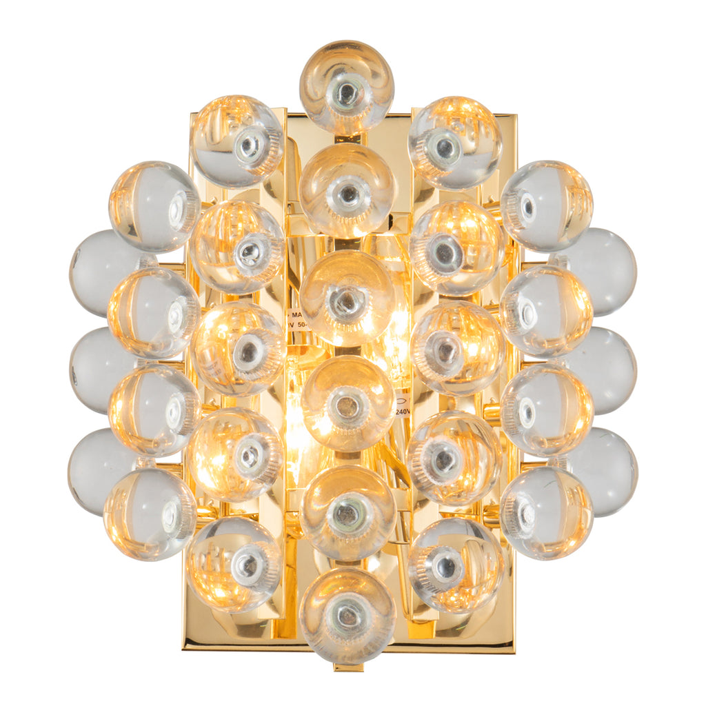 Liang & Eimil Astoria Wall Light in Polished Brass