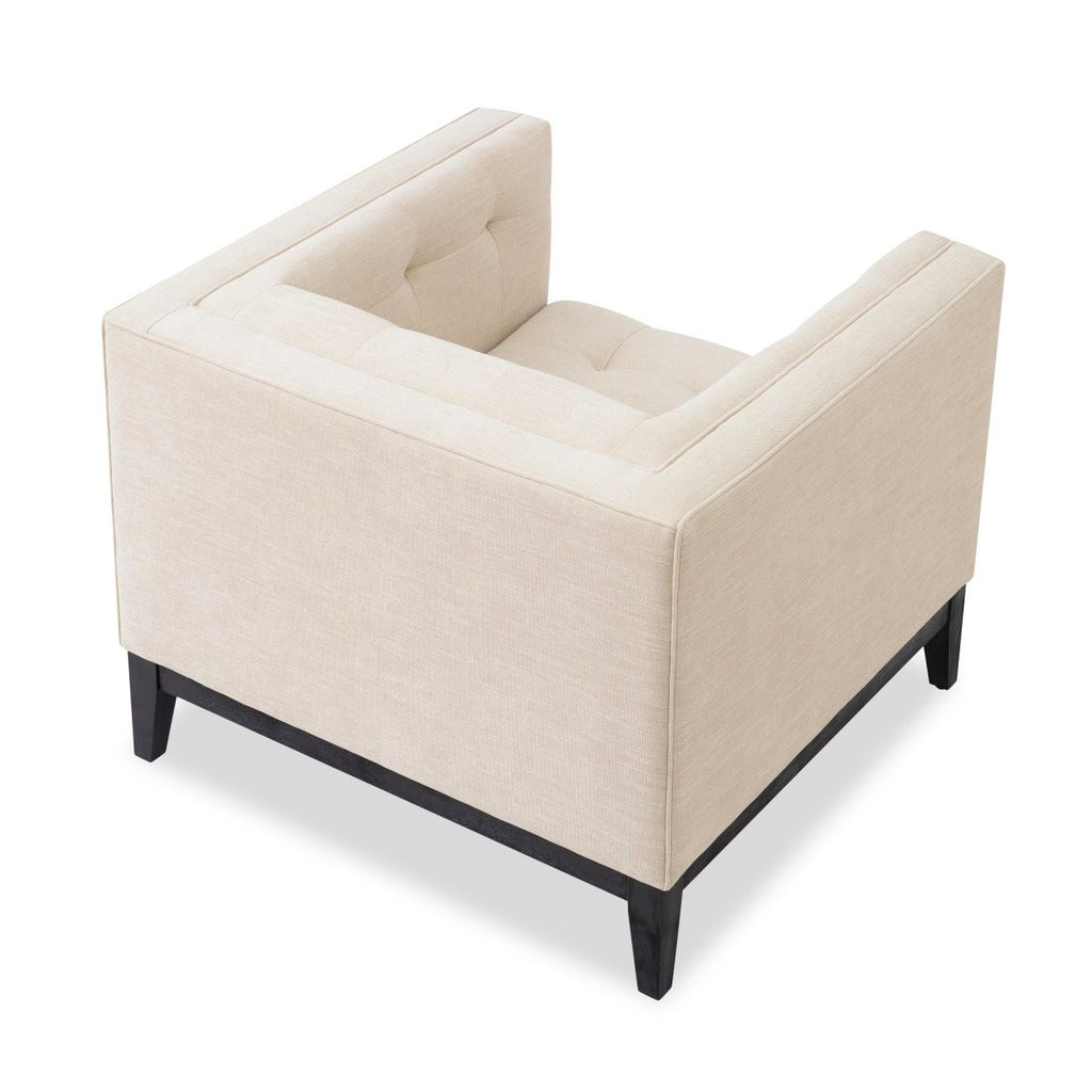 Liang & Eimil Beige Chenille (Linen Effect) Joel Occasional Chair