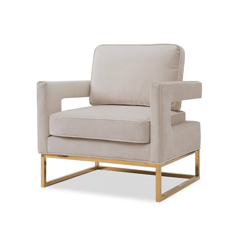 Liang & Eimil Beige & Gold Altro Occasional Chair
