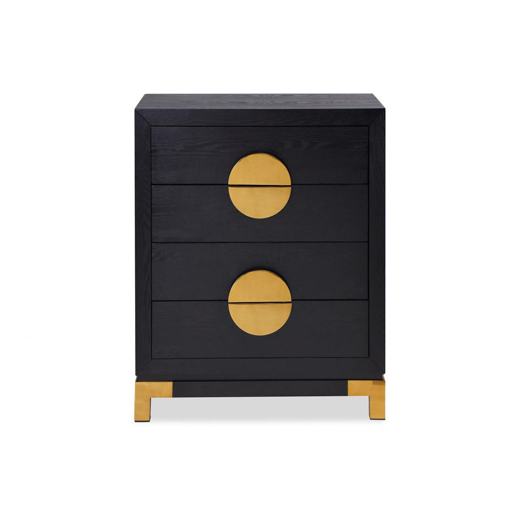 Liang & Eimil Black & Gold Otium Chest of Drawers