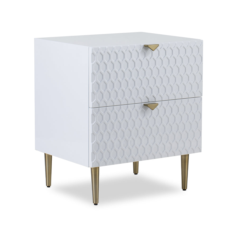 Liang & Eimil Bolero Bedside Table with High Gloss Lacquer