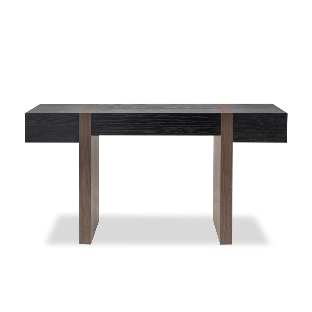 Liang & Eimil Borgo Desk with Walnut Veneer and Wenge Finished Oak Veneer