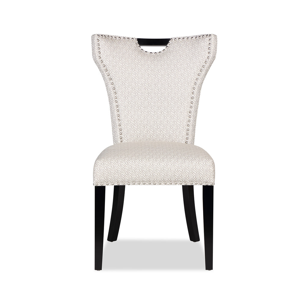 Liang & Eimil Brigitte Dining Chair with Diamond Grey Linen
