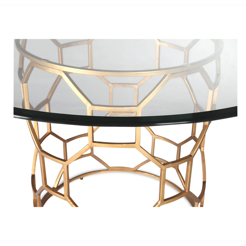 Liang & Eimil Antique Gold Central Dining Table