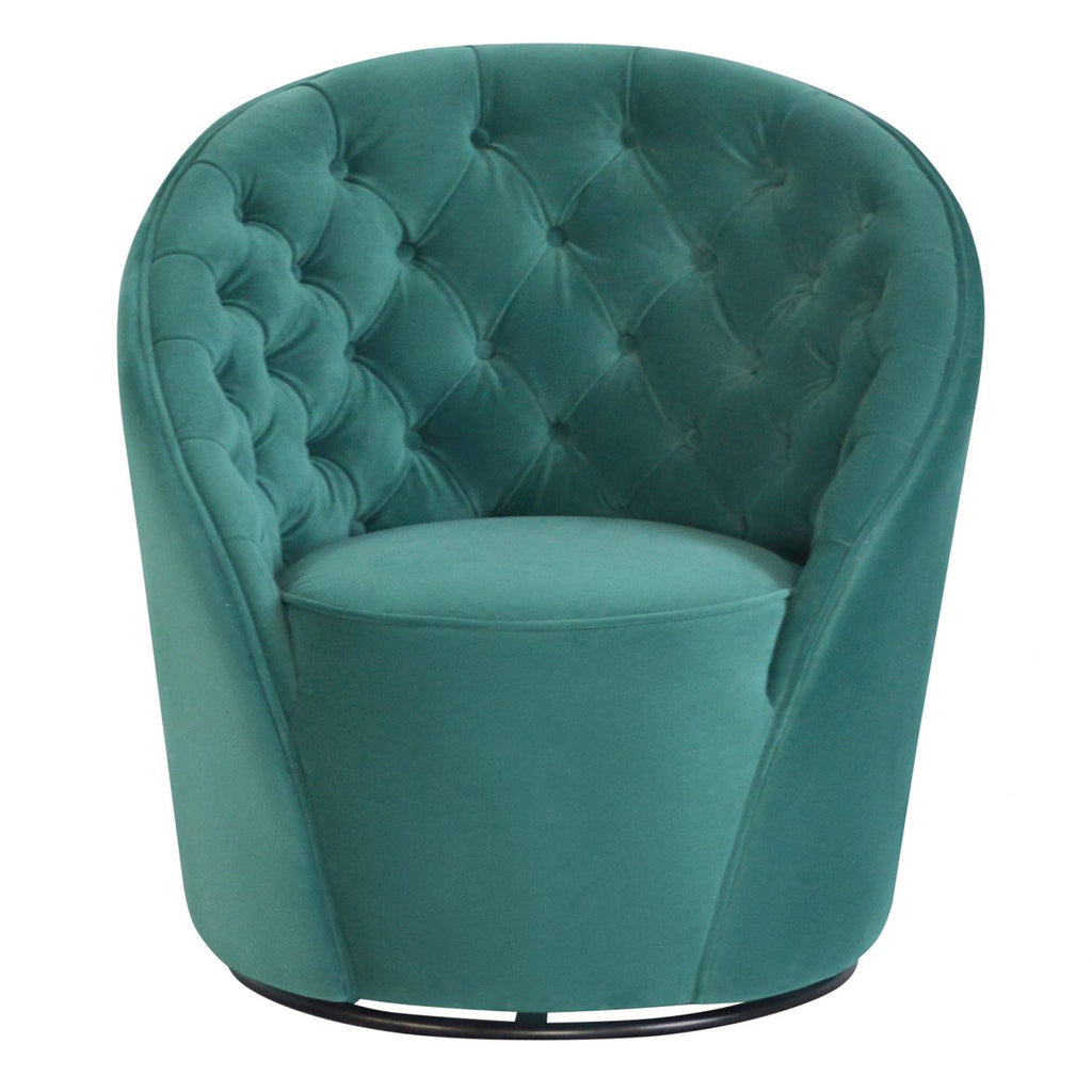 Liang & Eimil Chelsea Chair In Karster Lincoln Green Velvet