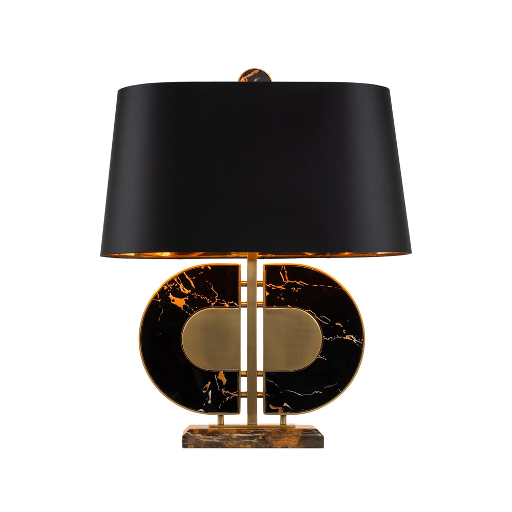 Liang & Eimil Coleman Table Lamp in Black Marble