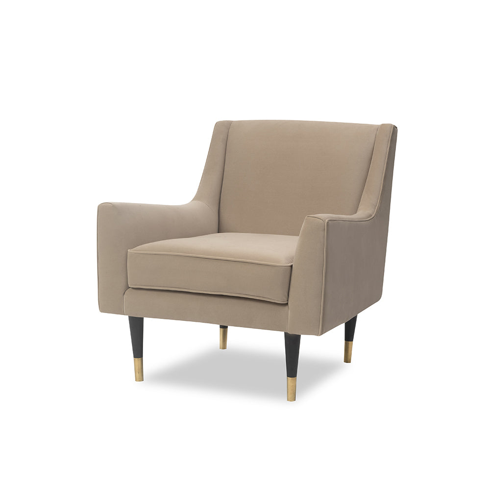 Liang & Eimil Conte Chair in Toscana Latte Velvet