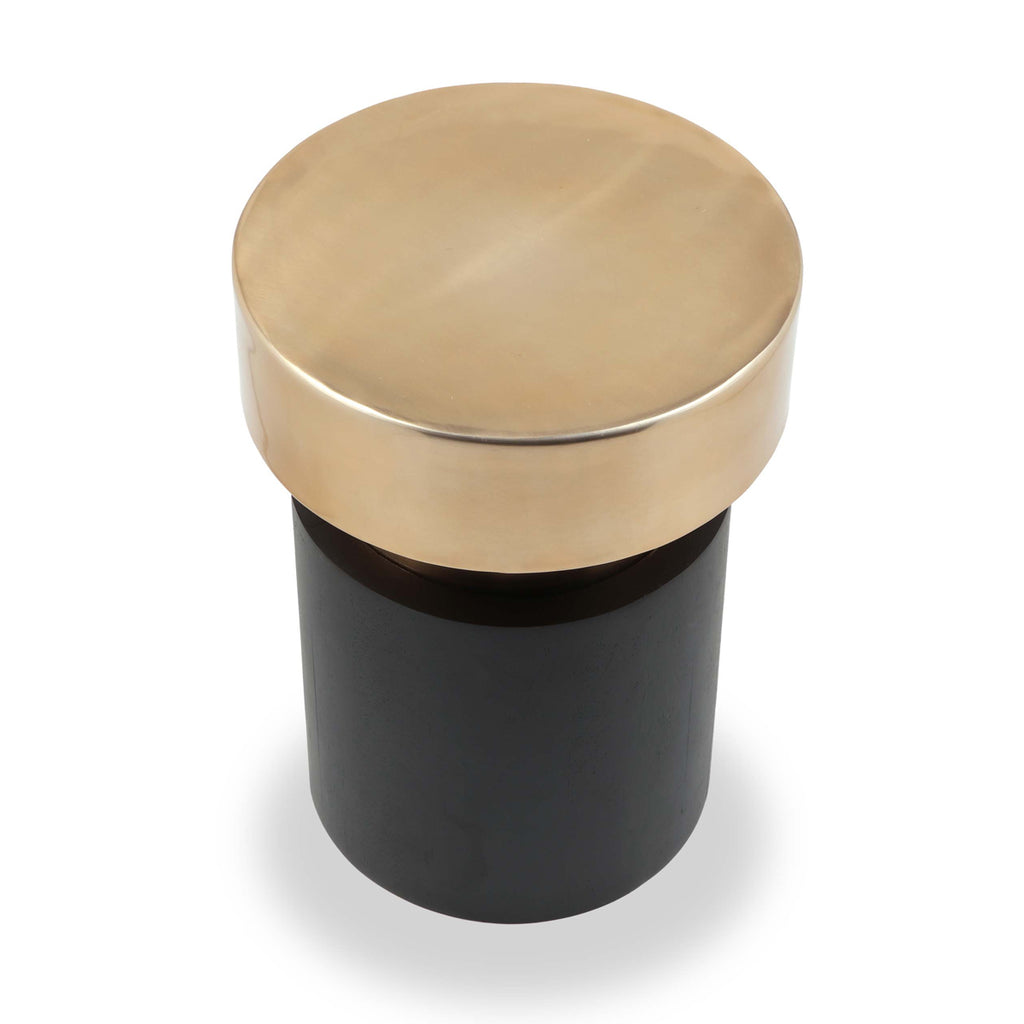 Liang & Eimil Drum Side Table in Brass
