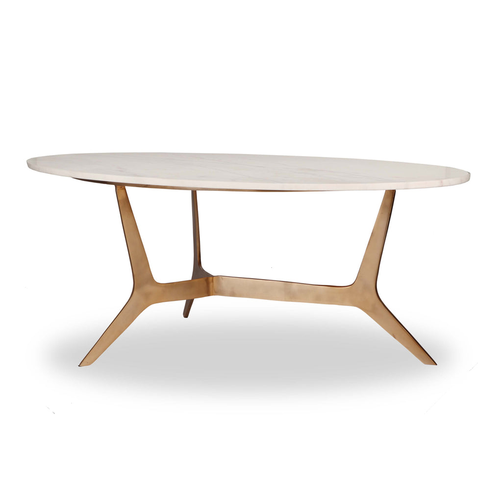 Liang & Eimil Dublin Coffee Table in White Marble