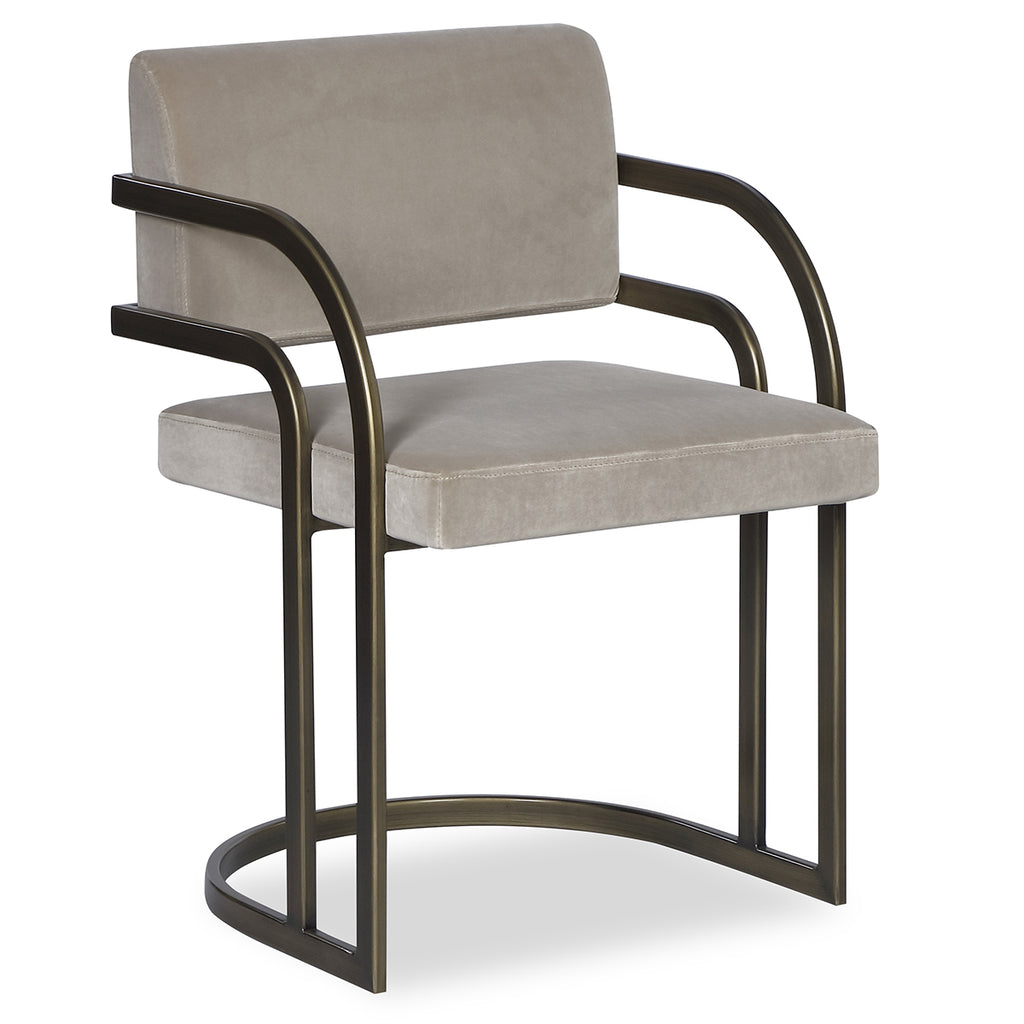 Liang & Eimil Dylan Dining Chair in Gainsborough Mink Velvet
