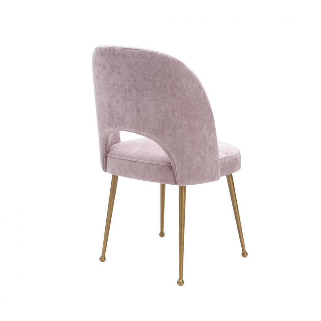 Liang & Eimil Erin Dining Chair in Lavender Velvet
