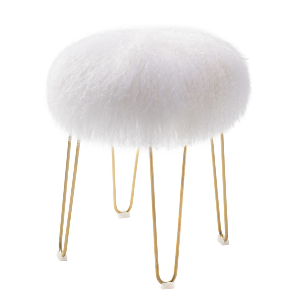 Liang & Eimil Ferrux Stool with Gold Metal Legs