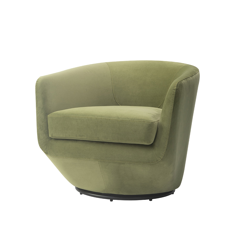 Liang & Eimil Gabor Chair in Baxter Fern Velvet