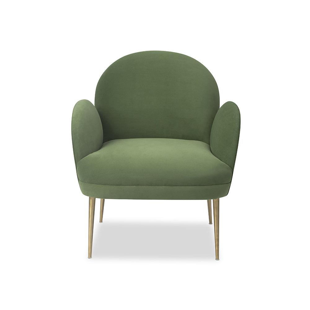 Liang & Eimil Gil Chair in Toscana Forest Velvet
