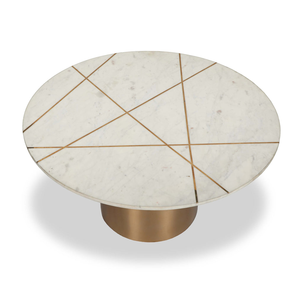 Liang & Eimil Havanna Coffee Table in White Marble