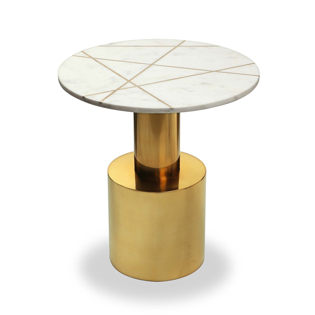 Liang & Eimil Havanna Side Table in Polished Brass