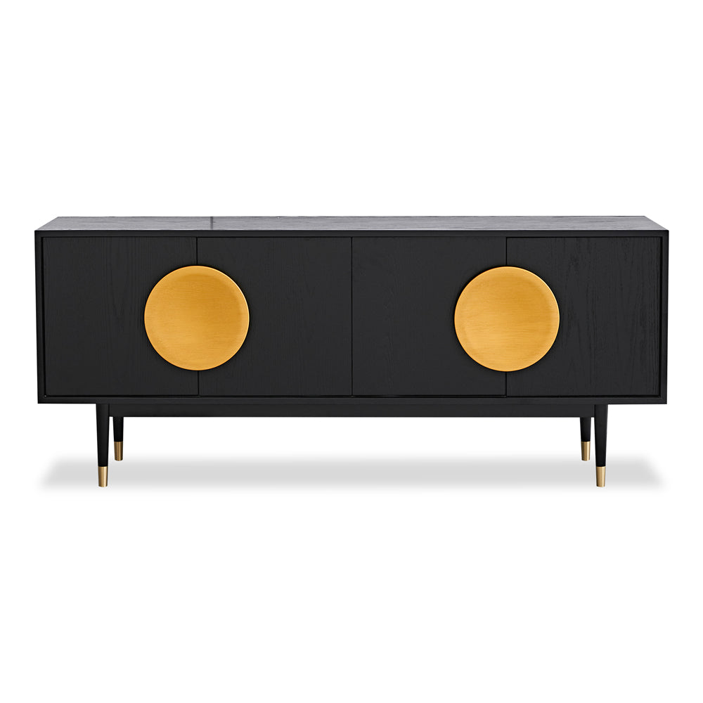 Liang & Eimil Hoxton Sideboard with Brushed Gold Handles