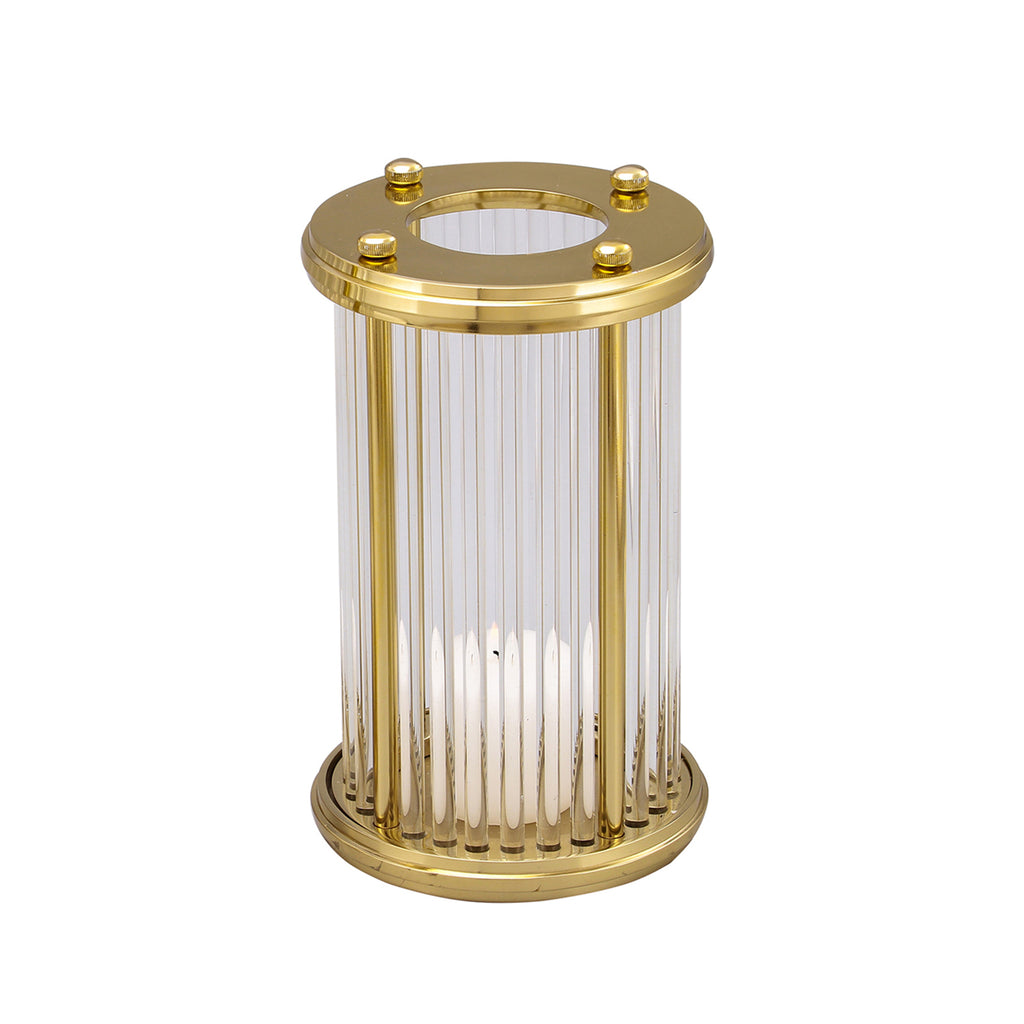 Liang & Eimil Hurricane Candle Holder Gold Small