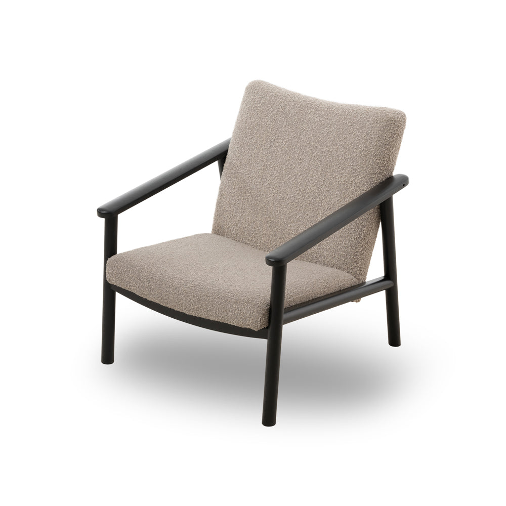 Liang & Eimil Ingmar Occasional Chair with Boucle Taupe Upholstery