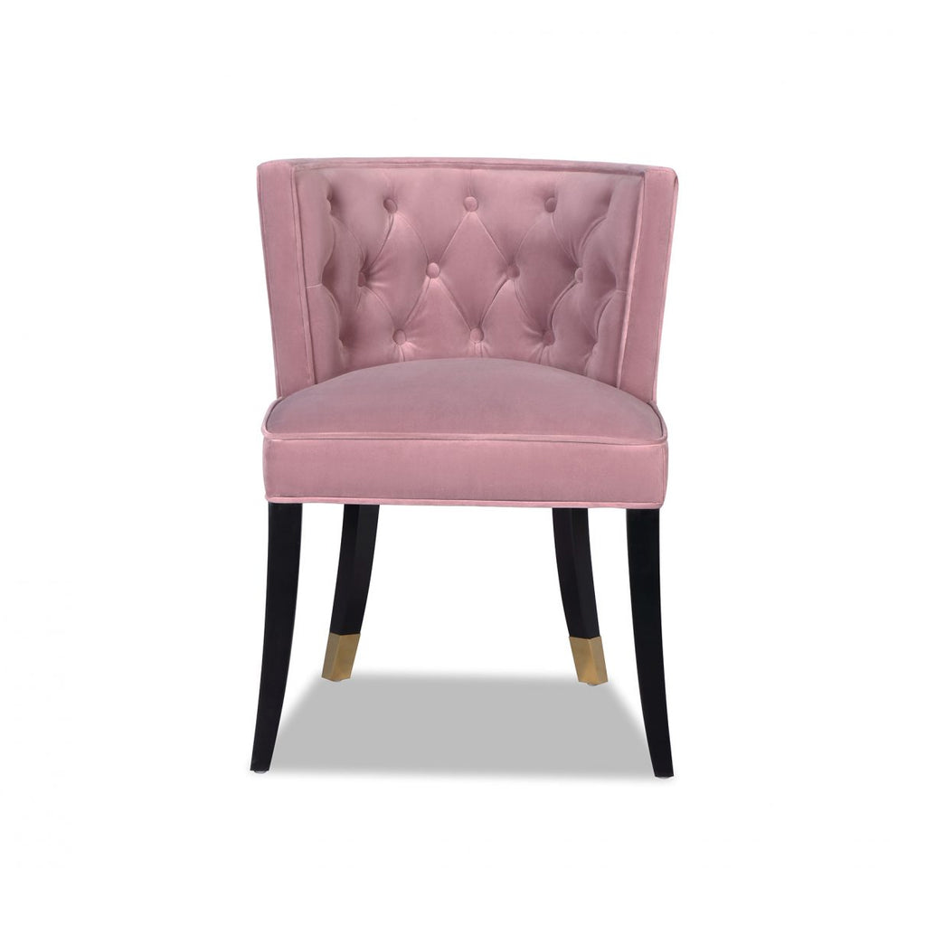 Liang & Eimil Kelly Dining Chair in Lilac Velvet