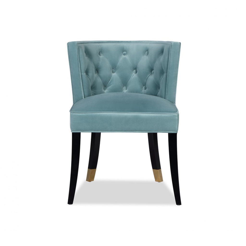 Liang & Eimil Kelly Dining Chair in Veranda Green Velvet