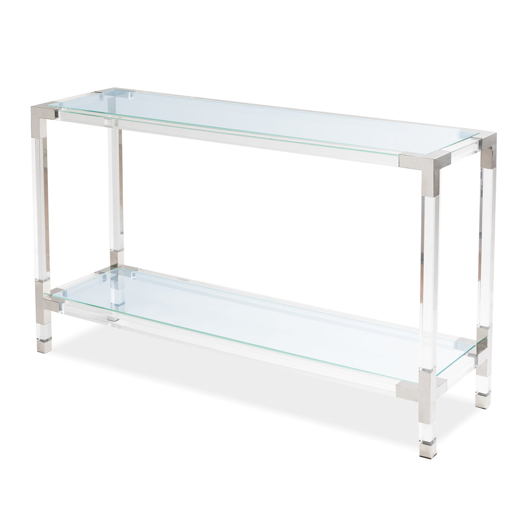 Liang & Eimil Keaton Console Table in Stainless Steel